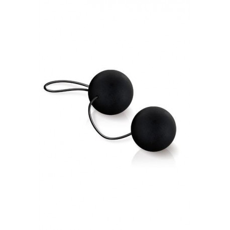 SILKY SMOOTH DUO BALLS BLACK